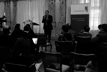 Ombudsman Dr. Günther Kräuter provided the participants with an insight into the work of the Austrian Ombudsman Board