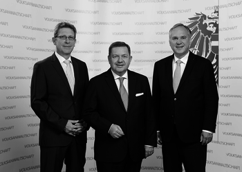 The members of the Austrian Ombudsman Board (© Volksanwaltschaft, Photo Simonis)